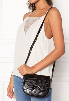 NORR by Erbs Muna Crossbody Black Croco 018 Bubbleroom.no