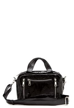 Nunoo Donna Gloss  Bag Black Bubbleroom.no