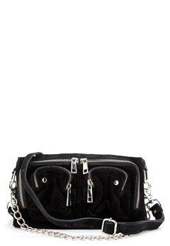 Nunoo Stine Chain Suede Bag Black Bubbleroom.no