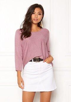 Boomerang O-neck Planta Sweater Pink Lilly Bubbleroom.no