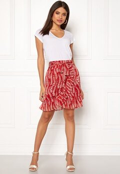 co'couture Oat Skirt Rio Red Bubbleroom.no