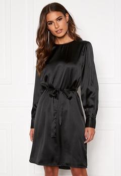 OBJECT Alina L/S Dress Black Bubbleroom.no