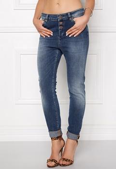 OBJECT Ally Antifit 467 Jeans Dark Blue Denim Bubbleroom.no