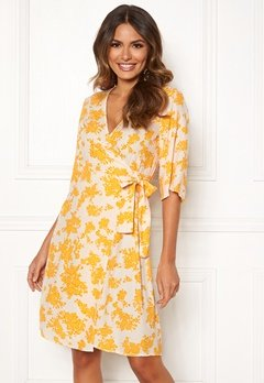 OBJECT Bea 2/4 Dress Elfin Yellow Bubbleroom.no