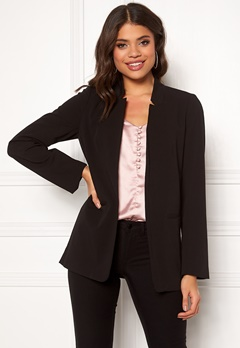 OBJECT Cecilie L/S Blazer Black Bubbleroom.no