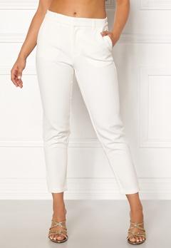 OBJECT Cecilie Lux 7/8 Pants Gardenia Bubbleroom.no