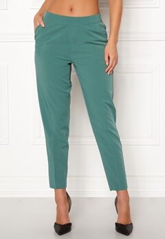 OBJECT Cecilie MW 7/8 Pants Blue Spruce Bubbleroom.no