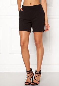 OBJECT Cecilie Shorts Black Bubbleroom.no