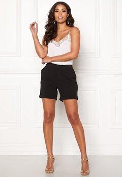 OBJECT Cecilie Shorts Black Bubbleroom.no