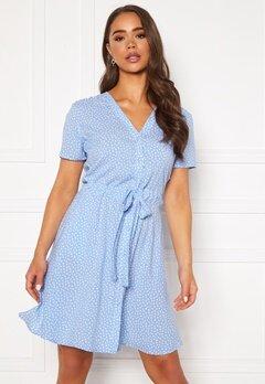 OBJECT Celeste SS Short Dress Serenity Bubbleroom.no
