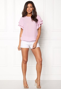 OBJECT Crystal S/S Top Pink Nectar Bubbleroom.no