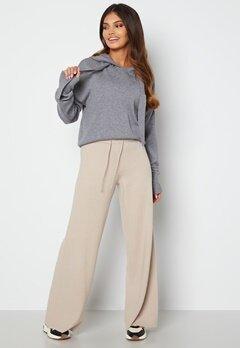 Object Collectors Item Devoe Knit Pants Silver Gray bubbleroom.no