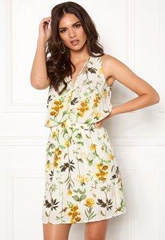 OBJECT Floressa S/L Dress Gardenia Bubbleroom.no