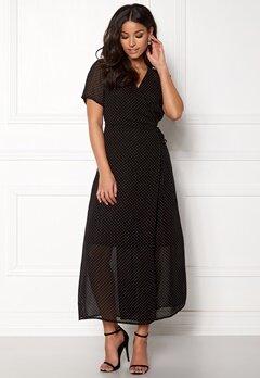OBJECT Gamilla S/S Long Dress Shady Glade Bubbleroom.no