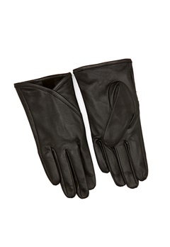 OBJECT Hannah L Gloves Black Bubbleroom.no