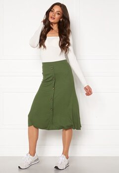 OBJECT Kay Maxi Skirt Burnt Olive Bubbleroom.no