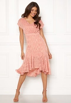 OBJECT Kelsey S/S Dress Misty Rose Bubbleroom.no