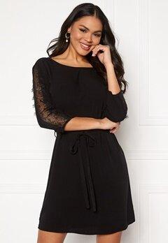 OBJECT Lauren 3/4 Dress Black Bubbleroom.no