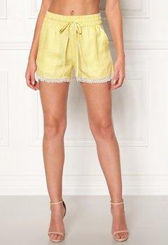 OBJECT Lemony Alena Shorts Neon Yellow Bubbleroom.no