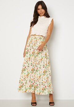 OBJECT Lorena Long Skirt Sandshell AOP Alba Bubbleroom.no