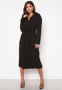 OBJECT Mae L/S Dress Black Bubbleroom.no