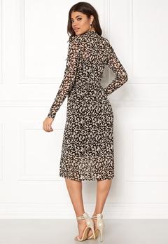 OBJECT Mariann L/S Long Dress Black Bubbleroom.no