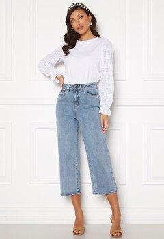 Object Collectors Item Marina MW New Denim Jeans Light Blue Denim bubbleroom.no