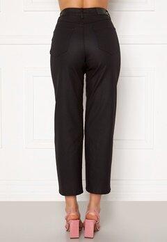 OBJECT Moji Belle Coated Jeans Black Bubbleroom.no