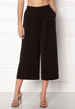 OBJECT Nell Wide Pant Black Bubbleroom.no