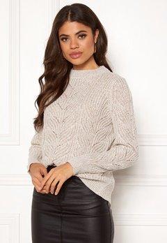 OBJECT Nova Stella L/S Knit Humus Bubbleroom.no