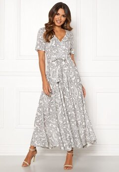 OBJECT Pisa S/S Maxi Dress Gardenia Bubbleroom.no