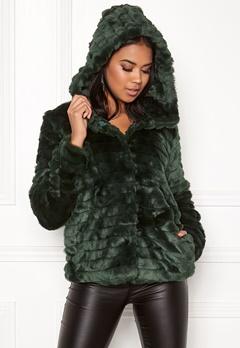 OBJECT Sandie Faux Fur Jacket Pine Grove Bubbleroom.no