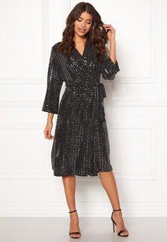 OBJECT Sharly 3/4 Dress Black Bubbleroom.no