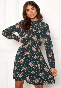 OBJECT Simone L/S Dress Pine Grove Bubbleroom.no