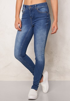 OBJECT Sally Skinny Jeans Medium Blue Denim Bubbleroom.no