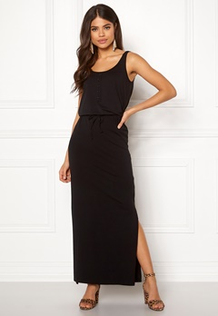 OBJECT Stephanie Maxi Dress Black Bubbleroom.no