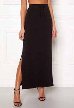 OBJECT Stephanie Maxi Skirt Black Bubbleroom.no