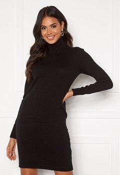 OBJECT Thess Dress Black Bubbleroom.no