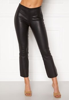 OBJECT Tilde MW Kickflared Pant Black Bubbleroom.no