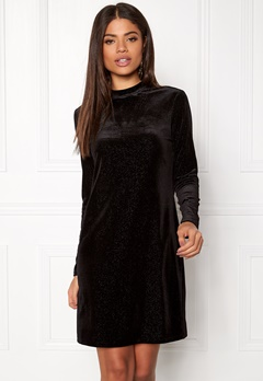 OBJECT Zobia L/S Dress Black Bubbleroom.no