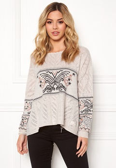 Odd Molly Arctic Wings Sweater Powder Bubbleroom.no
