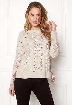 Odd Molly Flurry Sweater Chalk Bubbleroom.no