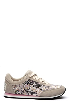 Odd Molly Lace Up Trainer Light Porcelain Bubbleroom.no