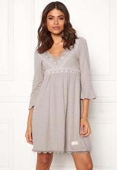 Odd Molly Lace Vibration Dress Ash Bubbleroom.no