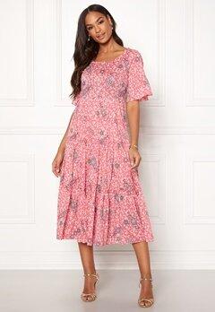 Odd Molly Lush Shake Dress Blush Pink Bubbleroom.no