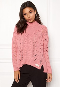 Odd Molly Pathways Sweater Dusty Pink Bubbleroom.no