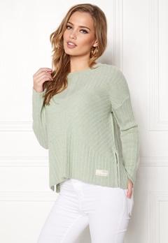 Odd Molly Retreat Sweater Soft Green Bubbleroom.no
