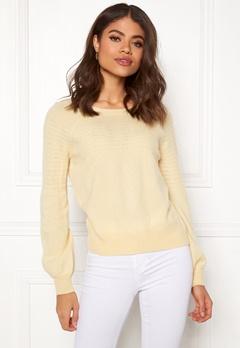 Odd Molly Soft Pursuit Sweater Light Yellow Bubbleroom.no