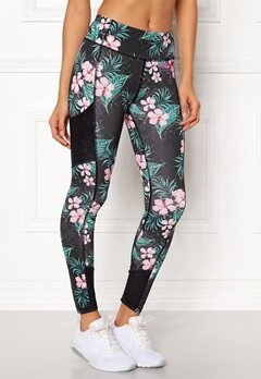 Odd Molly Sprinter Leggings Black Multi Bubbleroom.no