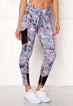Odd Molly Sprinter Leggings Dark Blue Bubbleroom.no